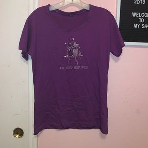 Tops - Purple Germany shirt